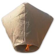 Фонарик летающий Кристалл белый, фото 1