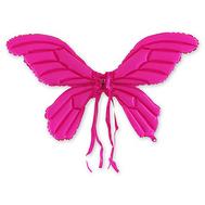 Крылья надувные Бабочка розовые, фото 1