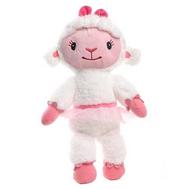 Игрушка Доктор Плюшева, Плюшевая овечка Лэмми, 30 см (звук, свет), фото 1