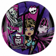 Тарелка Monster High 17см 8шт/A, фото 1