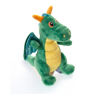 Игрушка мягкая Aurora  Дракон зеленый, 12 см, фото 1