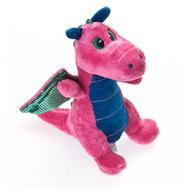 Игрушка мягкая Aurora  Дракон розовый, 20 см, фото 1