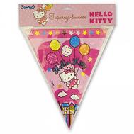 Гирлянда-вымпел Hello Kitty 360см/A, фото 1