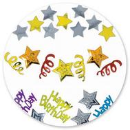 Конфетти HB Звезды 3 вида 34гр/A, фото 1