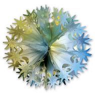 Фигура Шар Звезды фольг зол/сер 30см/G, фото 1
