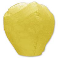 Фонарик летающий Овал желтый, фото 1