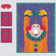 Игра с наклейками Веселый Клоун/A, фото 1