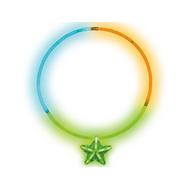 Светящ Ожерелье с кулоном Звезда мнгцв, фото 1