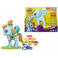 Игровой набор Стильный салон Рэйнбоу Дэш My Little Pony Плей До (Play Doh), фото 1