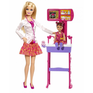 Кукла Барби Детский врач Кем быть Mattel (Маттел) (BDT49), фото 1