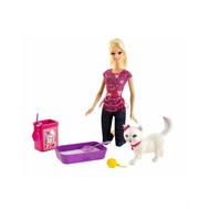 Кукла Барби ухаживает за кошечкой Mattel (Маттел) (BDH76), фото 1
