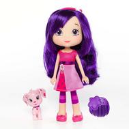 Игрушка Шарлотта Земляничка Кукла Вишенка с питомцем, 15 см, кор., фото 1