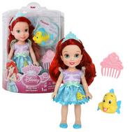 Кукла Принцессы Дисней Малышка с питомцем 15 см, Ариэль, фото 1