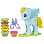 """Play-Doh Игровой набор """"Стильный салон Рэйнбоу Дэш"""" (B0011), фото 1"""