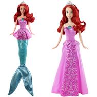 Disney Princess. Кукла Ариэль, превращается из русалочки в принцессу, 6,03х20,32х32,38см, фото 1