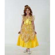 Костюм карнавальный ДИСНЕЙ Принцесса Белль (текстиль) размер 28  (детский), фото 1