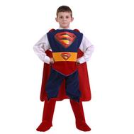 Костюм карнавальный Супермен (Звездный маскарад) размер 28 (детский), фото 1