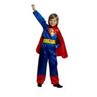 Костюм карнавальный Супермен (текстиль) размер 28 (детский), фото 1