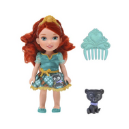 Кукла Принцессы Дисней Малышка с питомцем 15 см, Мерида (756800), фото 1
