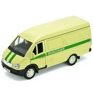 Игрушка модель машины ГАЗель ИНКАССАЦИЯ (42387CCN), фото 1