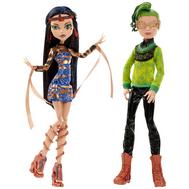 Набор из 2 кукол Клео де Нил и Дьюс Горгон - Бу Йорк, Школа Монстер Хай (CHW60), фото 1