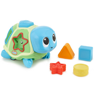 Игрушка развивающая Ползающая черепаха-сортер, звук. эф-ты (638497), фото 1
