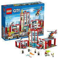 Город Пожарная часть Лего 60110, фото 1