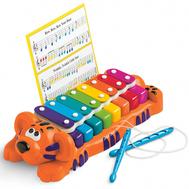 Игрушка муз. Тигр пианино-ксилофон 2 в 1, фото 1