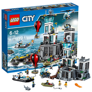 Город Остров тюрьма Лего 60130, фото 1