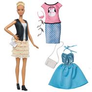 Barbie® Fashionistas™ 44 Leather & Ruffles Doll & Fashions - Tall, фото 1