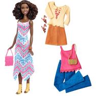 Barbie® Fashionistas™ 45 Boho Fringe Doll & Fashions - Tall, фото 1