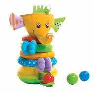 Музыкальная пирамидка Слоник с шариками (новый дизайн) Tiny Love (Тини Лав) (1502106830), фото 1