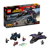Супер Герои Преследование Ч рной Пантеры Лего 76047, фото 1