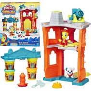 """Игровой набор Play-Doh Город """"Пожарная станция"""" (B3415), фото 1"""
