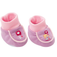 Одежда Беби Бон Ботинки мягкие фиолетовые, блистер (819-494-2), фото 1