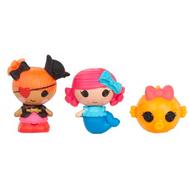 Игрушка кукла Малютки Lalaloopsy, уп-ка из 3 шт.: Русалочка, Пират, Рыбка (539827), фото 1