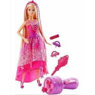 Кукла-принцесса с волшебными волосами Barbie (DKB62), фото 1