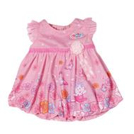 Одежда для куклы Бэби Бон, Платье розовое с цветочками, вешалка (822-111-1), фото 1