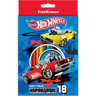 Карандаши Mattel Hot Wheels Super Car 18 цв. (39727), фото 1