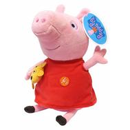 Мягкая игрушка Пеппа с игрушкой 30 см озвученная Peppa Pig Росмэн (30117), фото 1