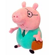 Мягкая игрушка Папа Свин с кейсом Свинка Пеппа (Peppa Pig) (30292), фото 1