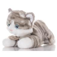 AURORA Игрушка мягкая Котик серый 22см, фото 1