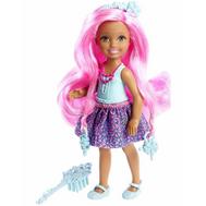 Челси с длинными волосами в голубом Mattel (Маттел) (DKB55), фото 1