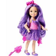 Челси с длинными волосами в пурпурном Mattel (Маттел) (DKB58), фото 1