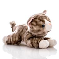 AURORA Игрушка мягкая Котенок серый 28 см, фото 1