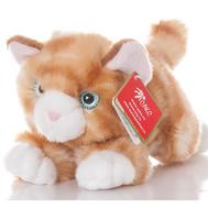 AURORA Игрушка мягкая Котик рыжий 22см, фото 1