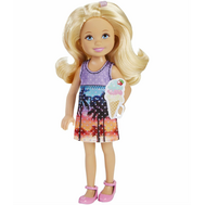 Кукла Barbie Puppy Adventure Челси с мороженым (DMD96), фото 1