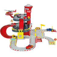 Пожарная станция Cratix с вертолетом и 1-ой машинкой Majorette (2050015), фото 1