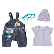 Одежда для Куклы Бэби бон, Джинсовый комбинезон (822-210-1), фото 1