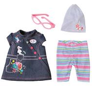 Одежда для Куклы Бэби бон, Джинсовое платье (822-210-2), фото 1